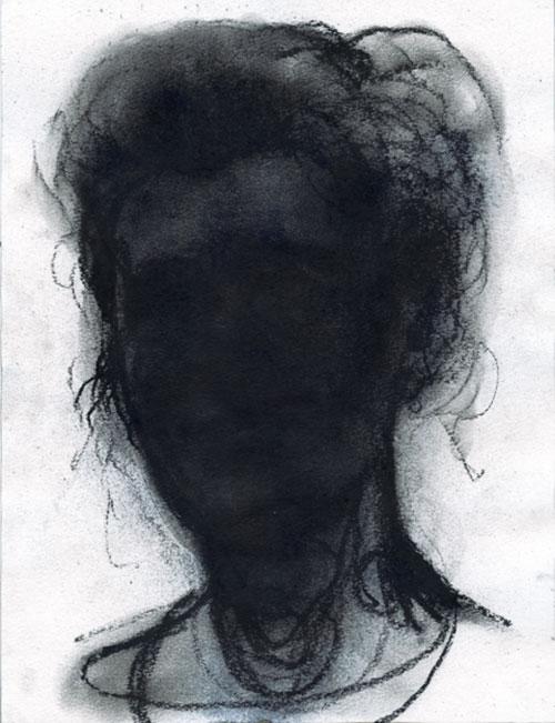 Meinbert Gozewijn van Soest, Alice II, Siberisch krijt op papier, 40 x 30 cm, € 900,-