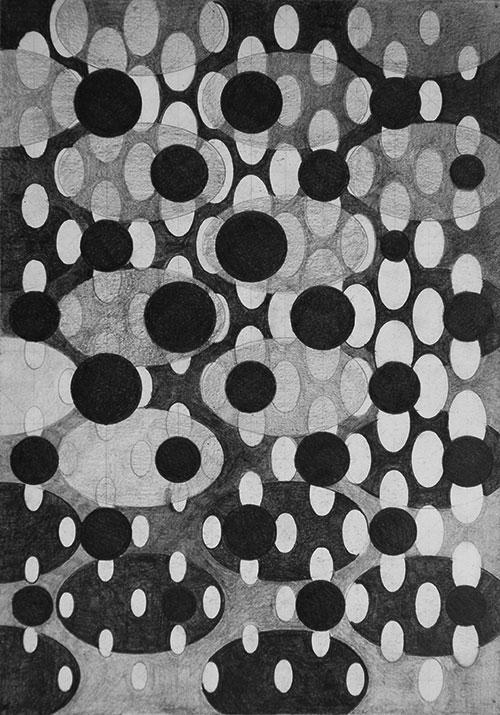 Elly Sloep, nr 8, potlood op papier, 30 x 20 cm, € 300,-