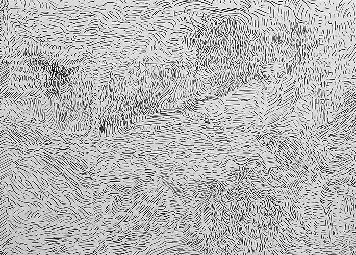 Josine Timmer, z.t., inkt op papier, 21 x 29,5 cm, € 320,-