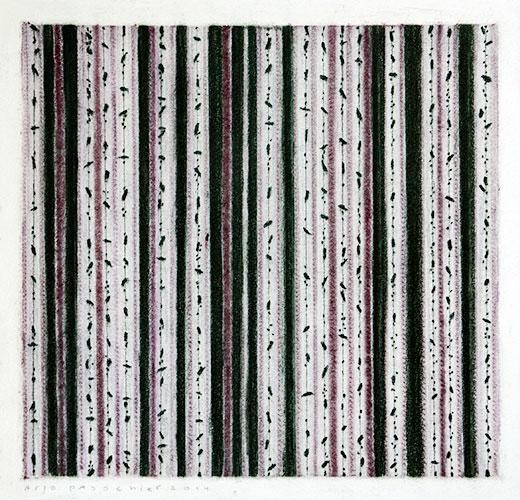 Arjo Passchier - z.t. houtskool, pastel, conté en bijenwas op papier 29,5 x 29,5 cm € 275,-
