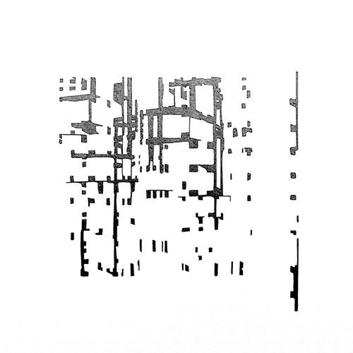 Gerda Kruimer - Simulacra #5 grafiet op papier 30 x 30 cm € 400,-