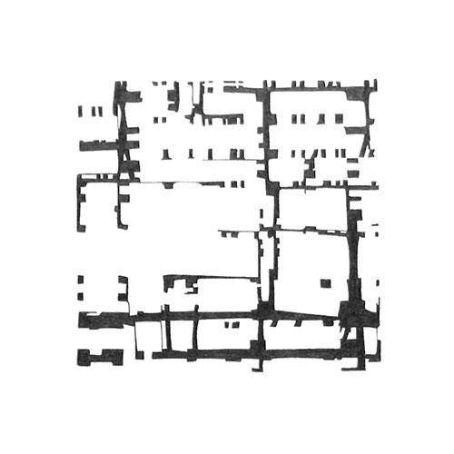 Gerda Kruimer - Simulacra #13 grafiet op papier 30 x 30 cm € 400,-