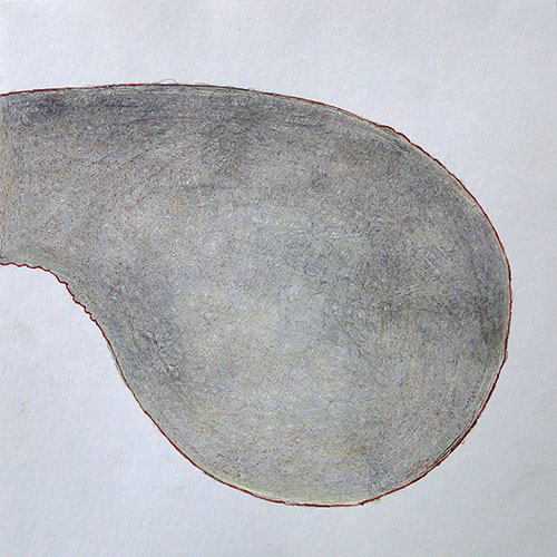 anne wine - z.t. potlood op papier 30 x 30 cm € 300,-