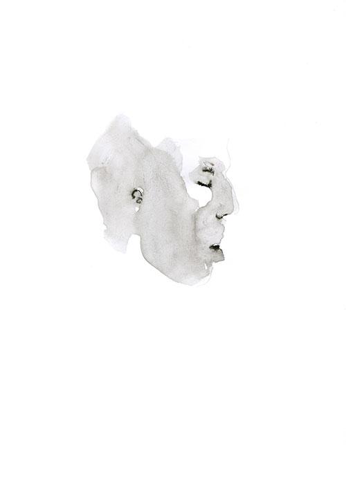 Marieke van der Velden - Charlies Angel Oostindische inkt op papier 32 x 25 cm € 210,-