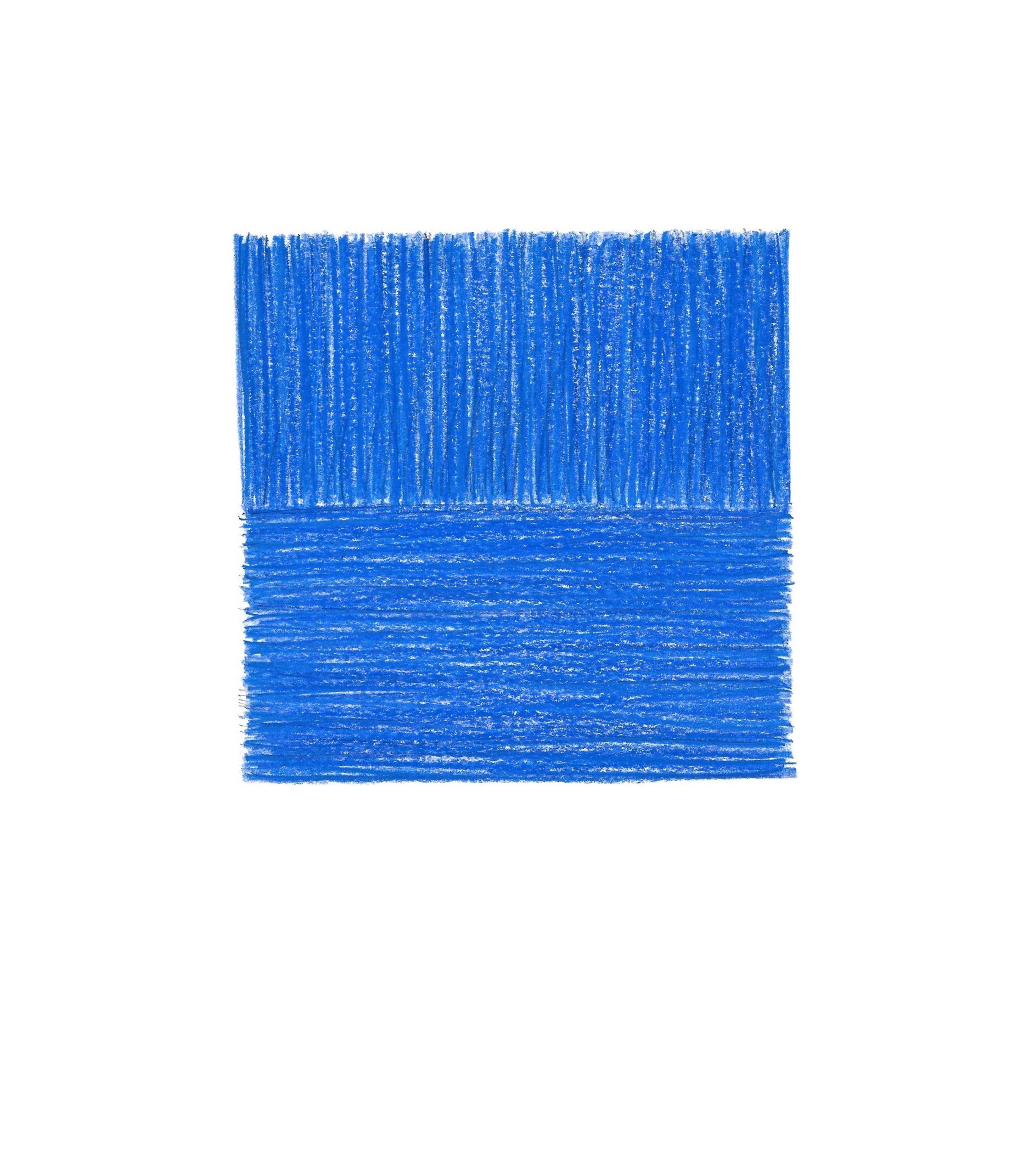 Tineke Porck – Binary square blue
