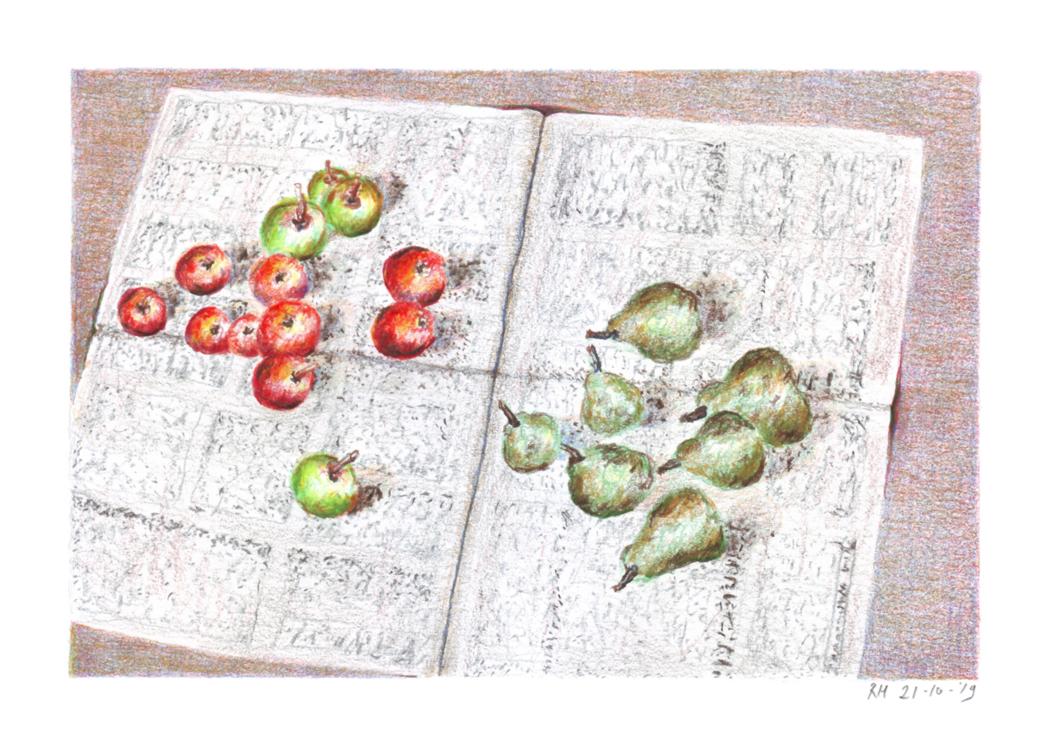 Rik Hagt – Appels en peren