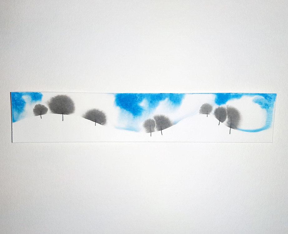 Saskia Zwiers – Sneeuwlandschapje, 2020